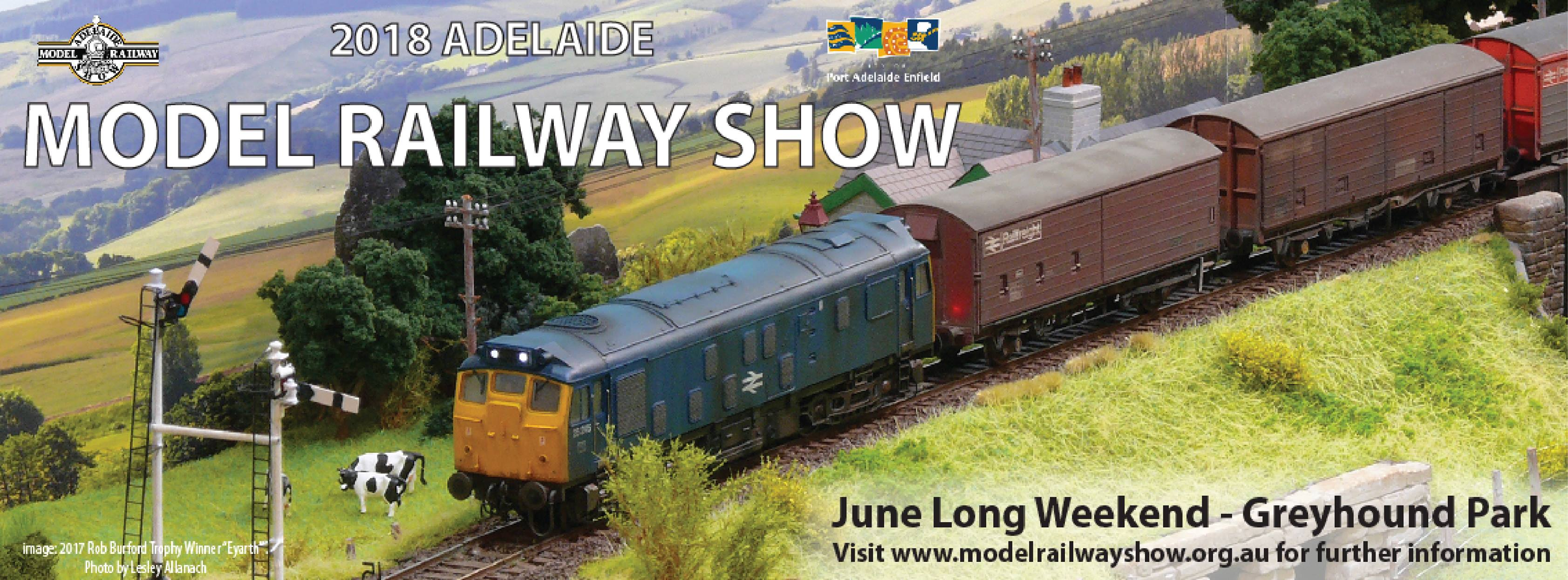 Adelaide Model Railway Exhibition 2018